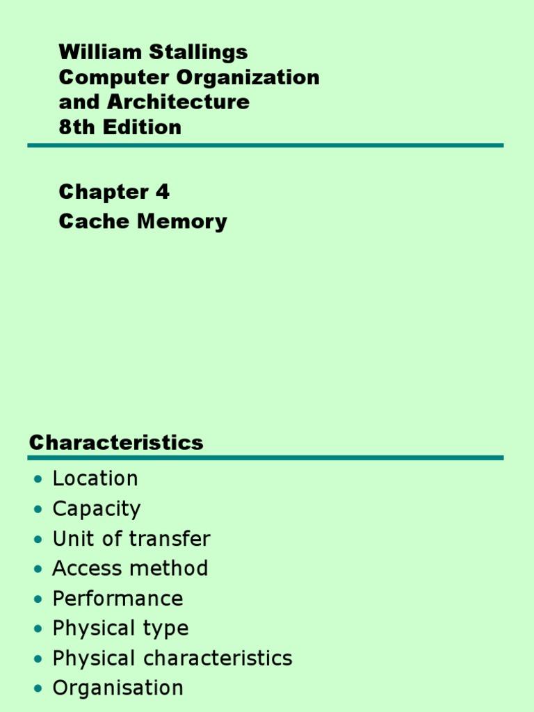 04 Cache Memoryppt Cpu Computer Data Storage Pentium 2 Block Diagram Pdf