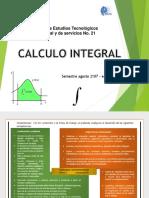 Presentacion de La Materia Calculo Integral 2017