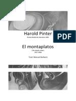 El Montaplatos  - Harold Pinter