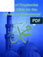 Series of Prophecies in the Bible for the Advent of Muhammad (PBUH)