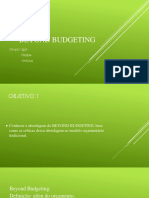 Apresentação Beyond Budgeting
