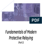IEEE Seminar - Fundamentals of Modern Protective Relaying - Part1