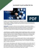 El Doxing- Conociendo La Privacidad de Los Cibernautas