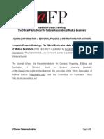 AFP Journal Information 2017