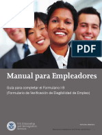 M 274 Handbook for Employers Spanish