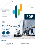 FY18 Partner Plus Launch