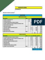 Presupuesto Rodolfo
