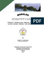 Strategi Pengelolaan Kawasan Pesisir dan Lautan Secara Terpadu dan Berkelanjutan