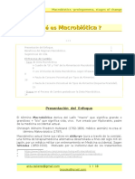 Macrobiotica -Prolegomenos y Proceso -v Trepox