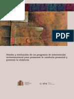 Intervencion Psicosocial-Premio 2OO3 MEC Programa 10-12