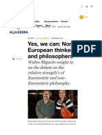 Yes, We Can_ Non-European Thinkers and Philosophers - Al Jazeera English