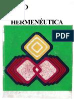 1. Mito y Hermenéutica (Caps. 1-3)