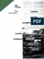 ISEDET - Métodos Exegéticos