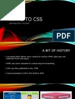 INTRO CSS