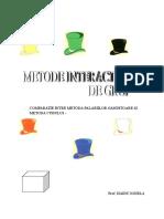 COMPARATIE INTRE METODA PALARIILOR GANDITOARE SI METODA CUBULU (1).doc