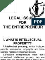 legalissuesfortheentreprenuer-110831220314-phpapp02
