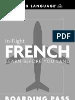 In Flight French