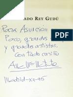 Dedicatoria de Ana Maria Matute en Un Ejemplar de Su Libro Olvidado Rey Gudu