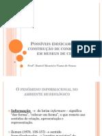 SOUZA, Daniel M. V. Possíveis (des)caminhos da construção de conhecimento em Museus de Ciência