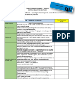 Competencias Personales y Sociales Sistema Educativo