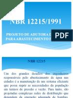 NBR 12215 - 12217