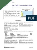 PIM130B1_Honeywell AGT1500 Archived 03 2009.pdf