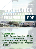 Fsdp Guidelines