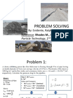 Problem Solving by Ralph Evidente