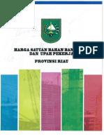 Jurnal Harga Prov. Riau 2017