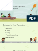 Review-Tools Used in Food Preparation