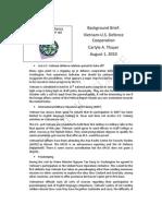 Thayer Vietnam-US Defence Cooperation