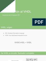 Introducción Al VHDL