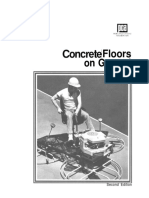 4 Concrete Floors on Ground