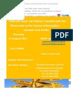 Gap Year Invitation - Mudgee Info 31 Aug 17