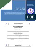Plan de Area Etica