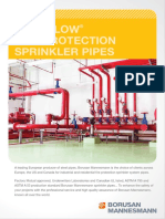 Easy Flow Fire Protection Sprinkler Pipes