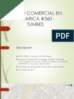 PREDIO en venta COMERCIAL TUMBES