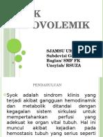 Syok Hipovolemik Edit