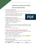 Normas Procedimiento Para Presentación Trabajos