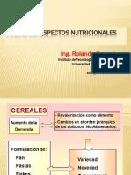 CEREALES- ASPECTOS NUTRICIONALES