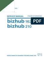 KM bizhub 162, 210 - Theory of operation.pdf