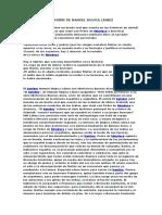 Análisis de El Hambre de Manuel Mujica Láinez