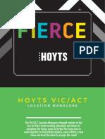 HOYTS Fierce Book