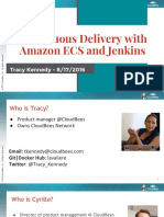 Devops.com Webinar - CD With Ecs and Jenkins
