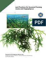 Seaweed Culture Bmp Manual