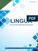 LINGUA STBA LIA (Vol. 12, No. 1, September 2016)