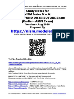 NISM Series VA Mutual Fund Distributors Exam Study Notes