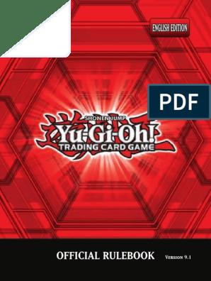 Yu-Gi-Oh Rulebook pdf