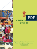 Annual Report Ministry of Social Justice
