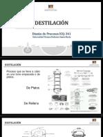 REVISADO Diseño de Procesos Clase Torres Destilación Rev0